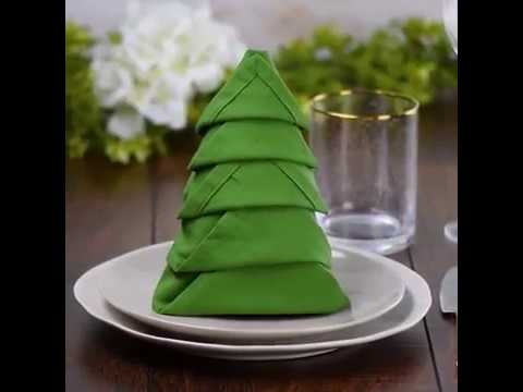 10 Wow worthy Napkin folds that belong on the table