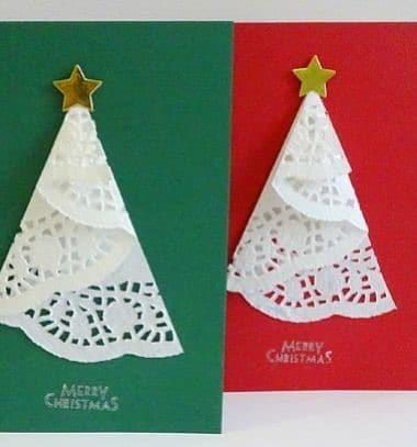 Návod jak si vlastnoručně vyrobit vánoční přání