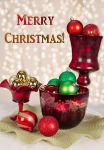 Textová přáníčka k Vánocům