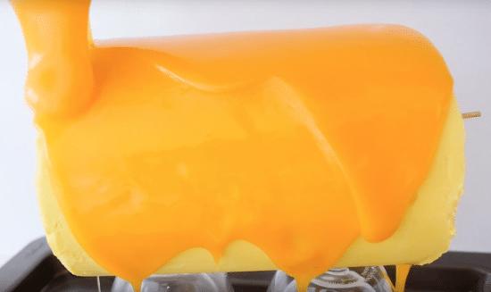 Pomerančová poleva na vánoční cukroví.