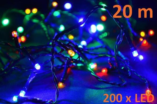 Řetěz barevný – 20 m