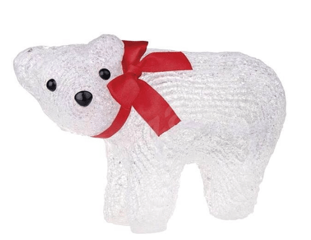 svítící lední medvídek