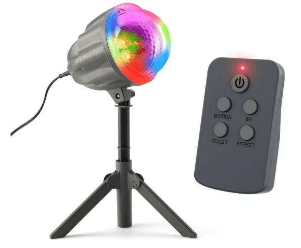 laserové vánoční osvětlení