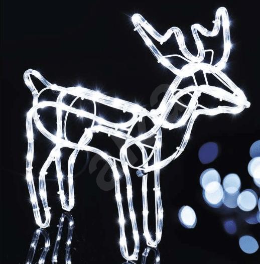 vánoční sob osvětlení