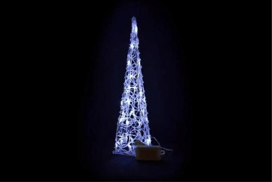 vánoční svítící kužel na Vánoce