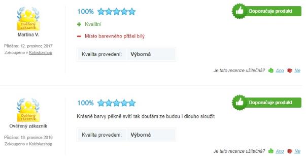recenze barevné osvětlení