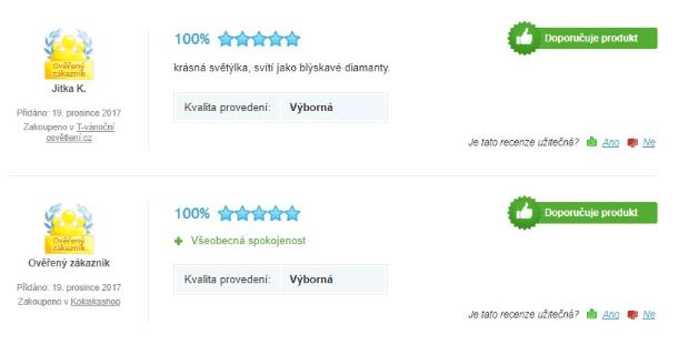 LED řetězy recenze