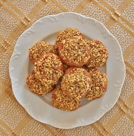 Sádlové placičky s ořechy