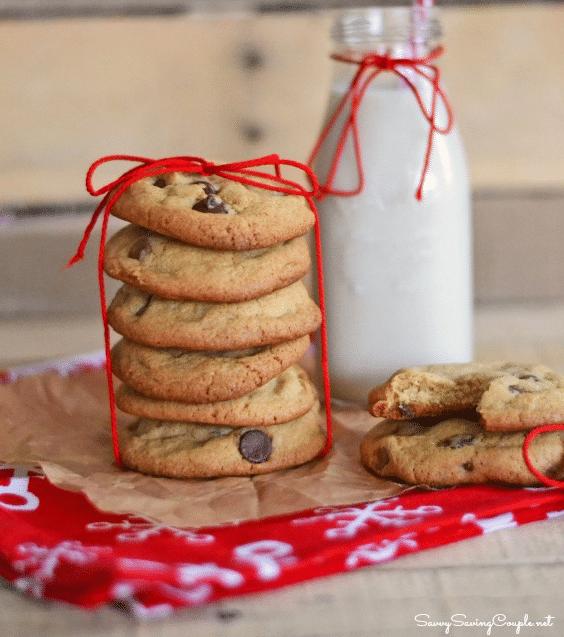 Žloutkové cookies s čokoládou