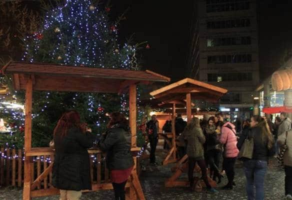 Vánoční trhy na Smíchově v Praze