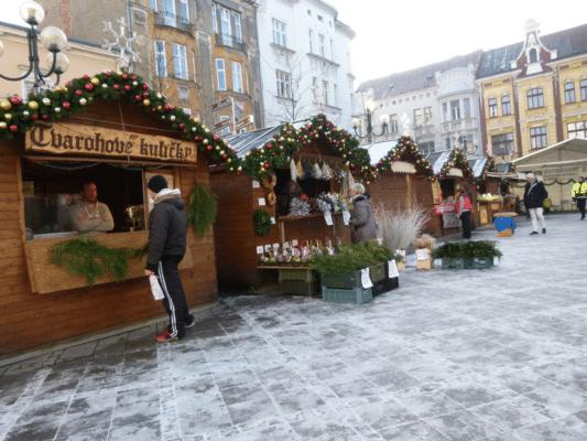 Vánoční trhy v Ostravě na Jiráskovo náměstí