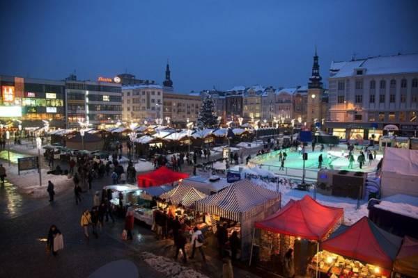 Vánoční trhy v Ostravě na Masarykovo náměstí