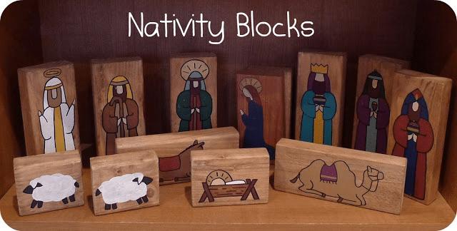 Návod jak si vyrobit vlastní dřevěný betlém.