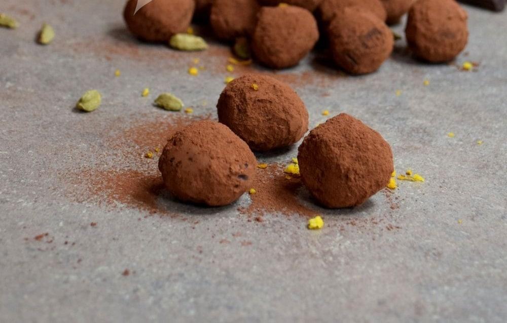 domácí pralinky z čokolády