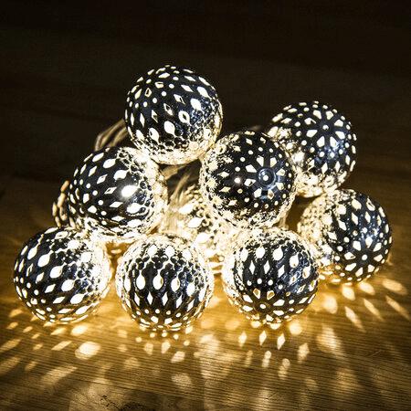 Světelná vánoční dekorace- koule.