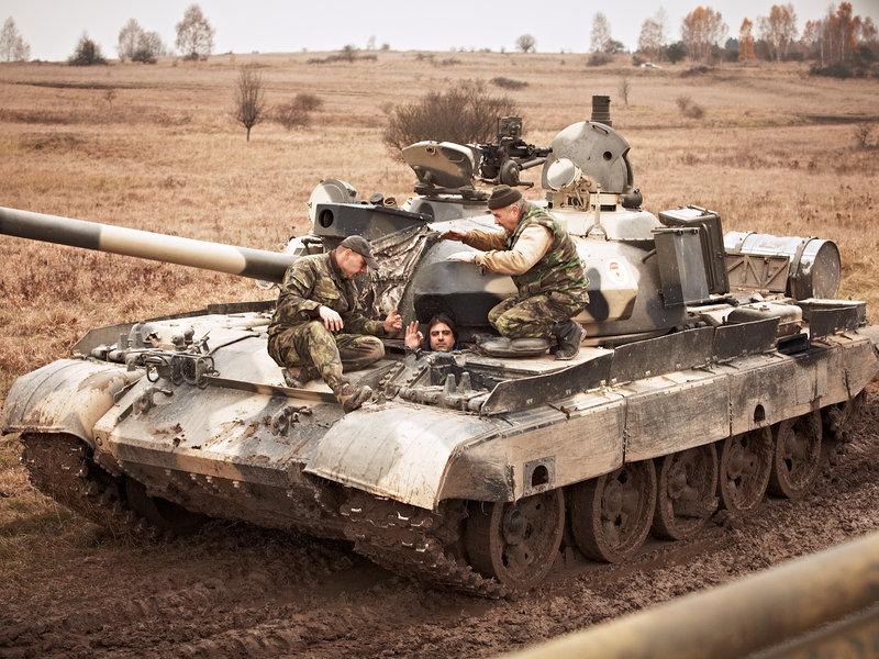 řízení tanku může být skvělý dárek pro muže