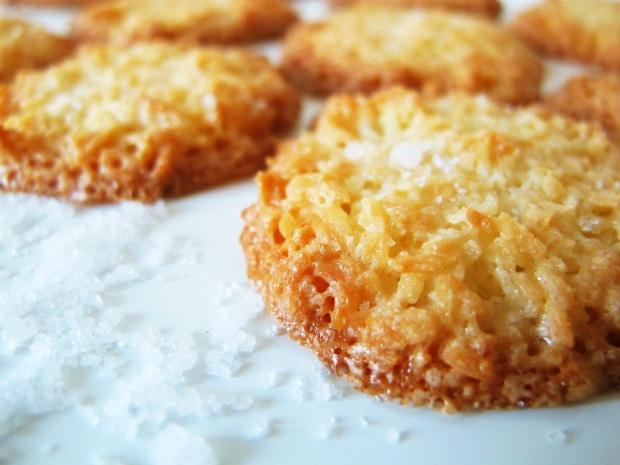 upečené karamelizované kokosky