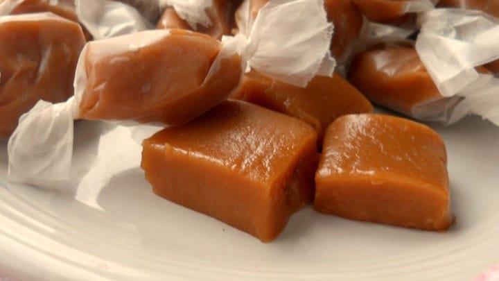 Karamelové bonbóny
