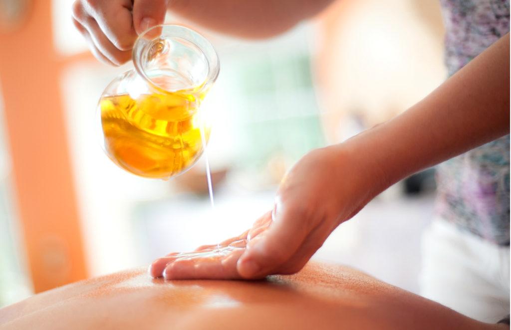 uklidňující konopná masáž je pro ženy to pravé