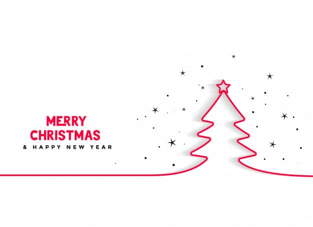 Veselé Vánoce a šťastný nový rok - vánoční přání.