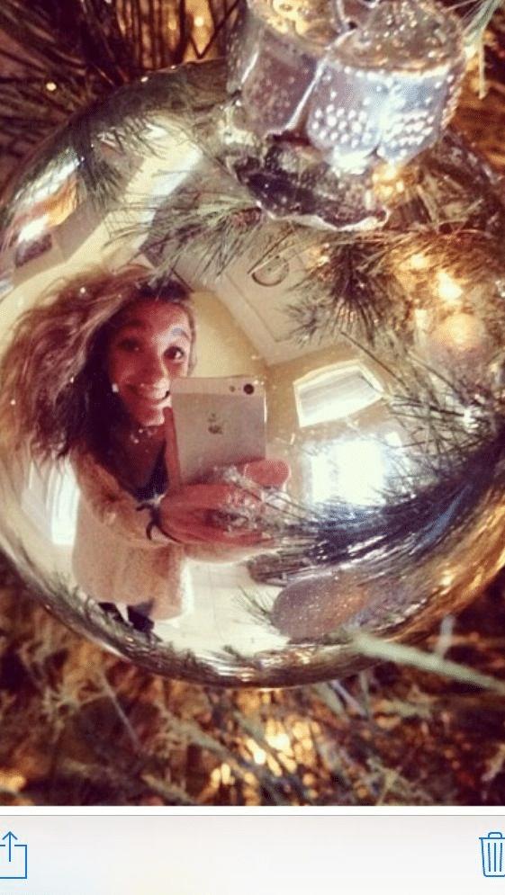 Originální vánoční selfie přání mms.