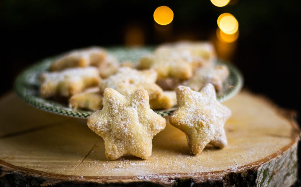 vánoční cukroví ze šlehačky