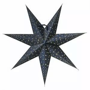 Velká vánoční svítící hvězda do okna.