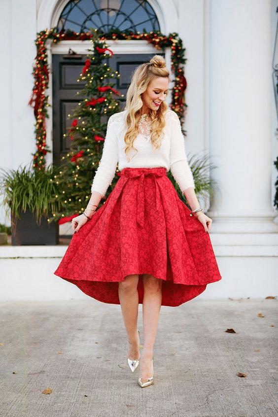 Vánoční šaty trendy 2019.