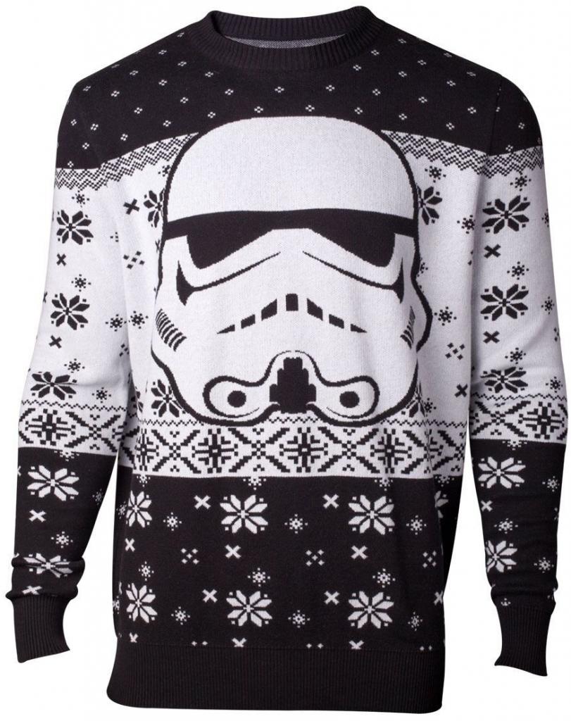 Zimní svetr Star wars.