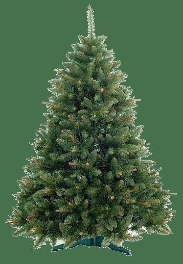 Oblíbená jedle jako umělý vánoční stromeček.