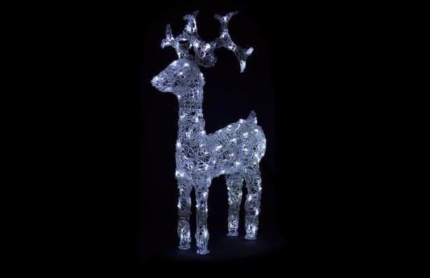 dekorace v podobě vánočního soba