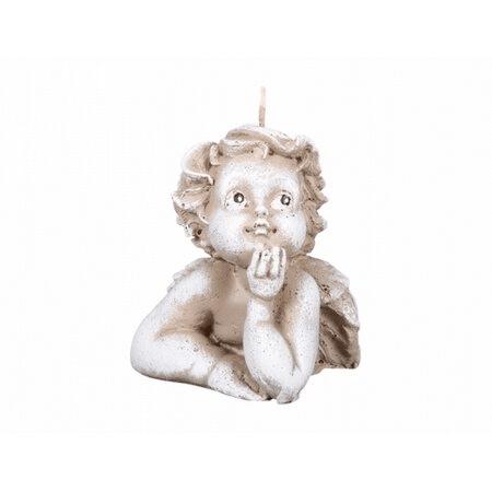 Vánoční svíčka ve tvaru anděla Gabriela.