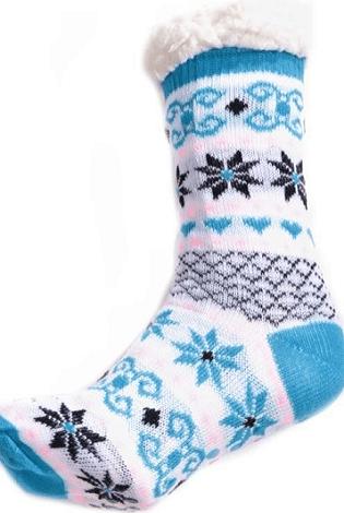 Tlusté zimní ponožky