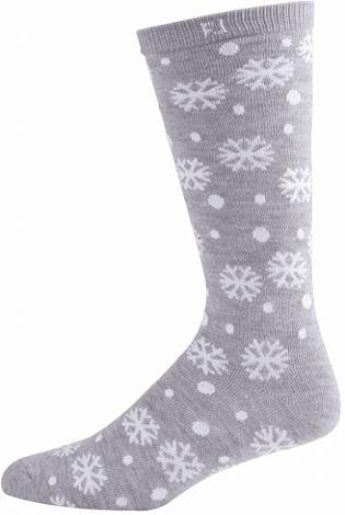 Šedé teplé ponožky