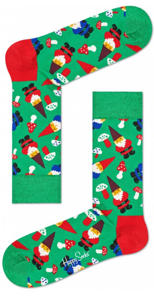 Vánoční skřítci na pánských ponožkách