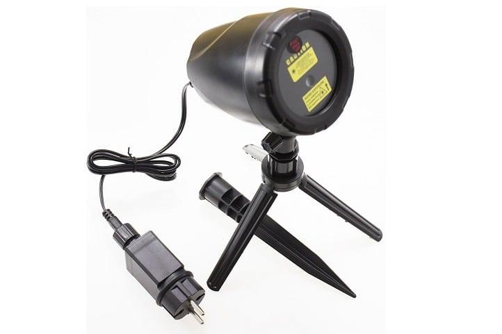 Vánoční laserový projektor s pěti režimy