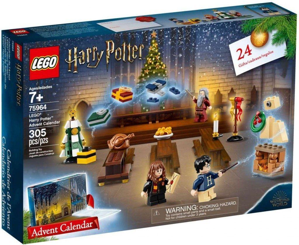 Vánoční kalendář Harry Potter jako dobrodružný dárek před Vánoci.