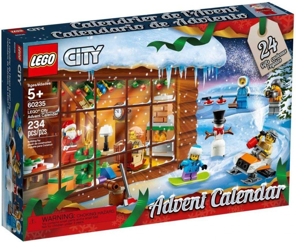 Mikulášský kalendář LEGO City.