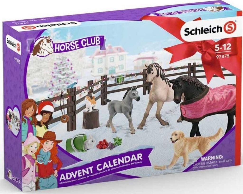 Vánoční kalendář Schleich Koně pro holky.