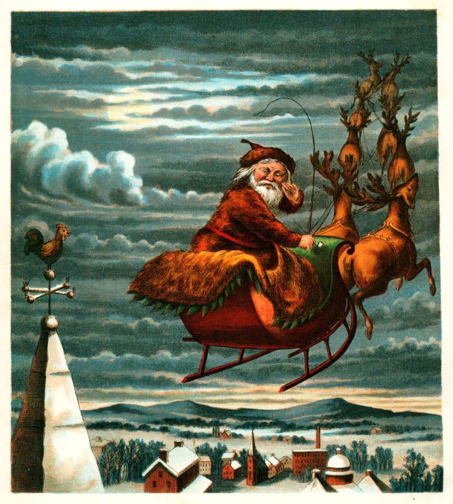 Santa Claus podle Thomase Nasta.