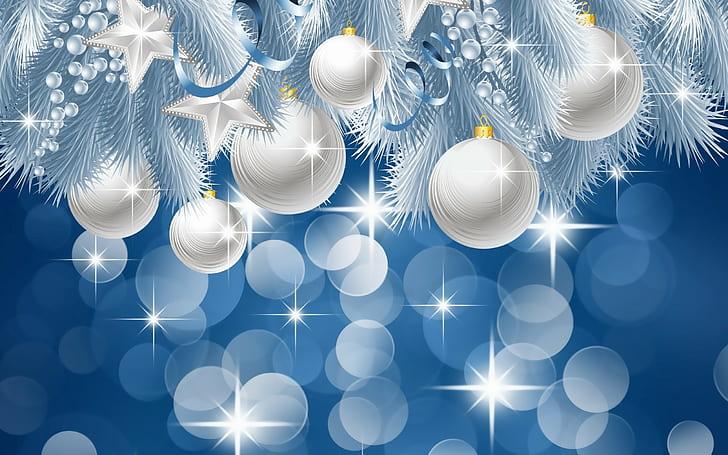 Baňky jako tradiční vánoční obrázek.