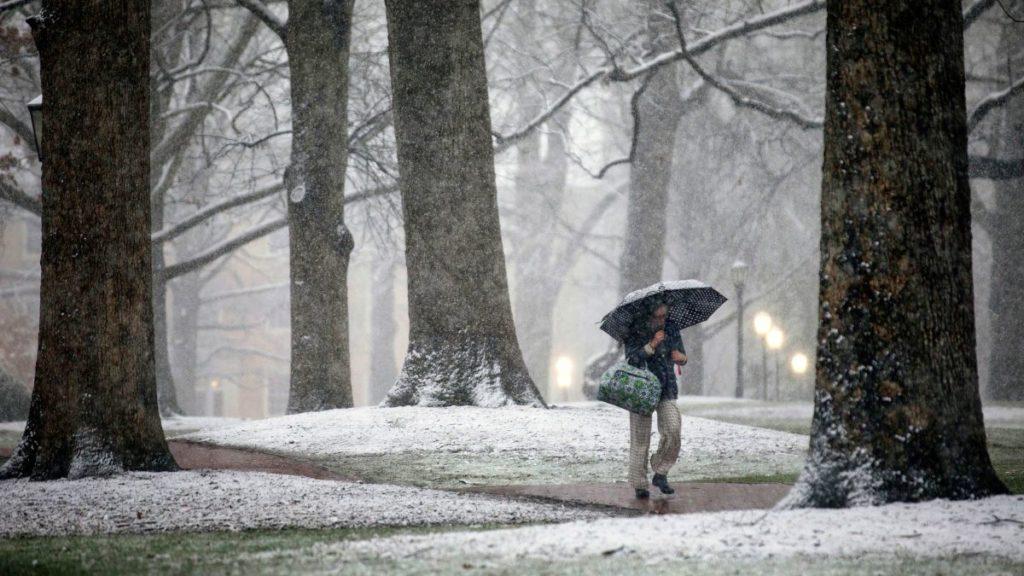 Svátky 2011 byly převážně deštivé.