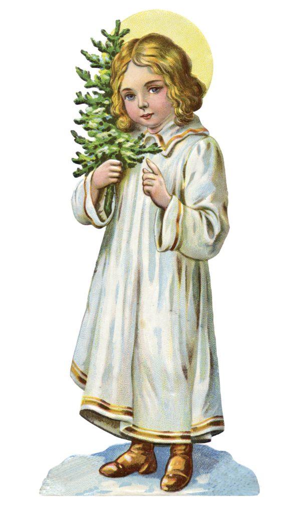 Průvod na severu Moravy provázela dívka v bílých šatech nesoucí strom.