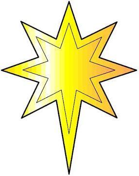Hvězdu si stáhněte, vytiskněte a vystřihněte.