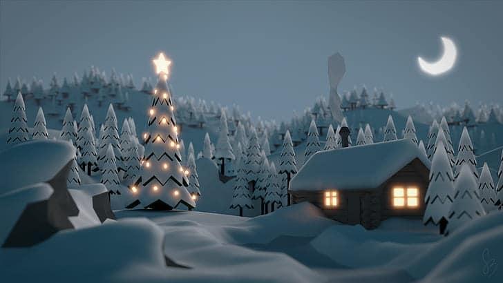 Tyto nádherné vánoční obrázky si stáčí stáhnout.