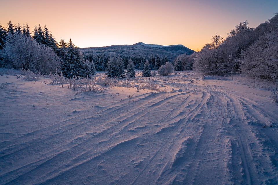 Na Vánoce v roce 2010 jsme si mohli na některých místech ještě vychutnat sníh.