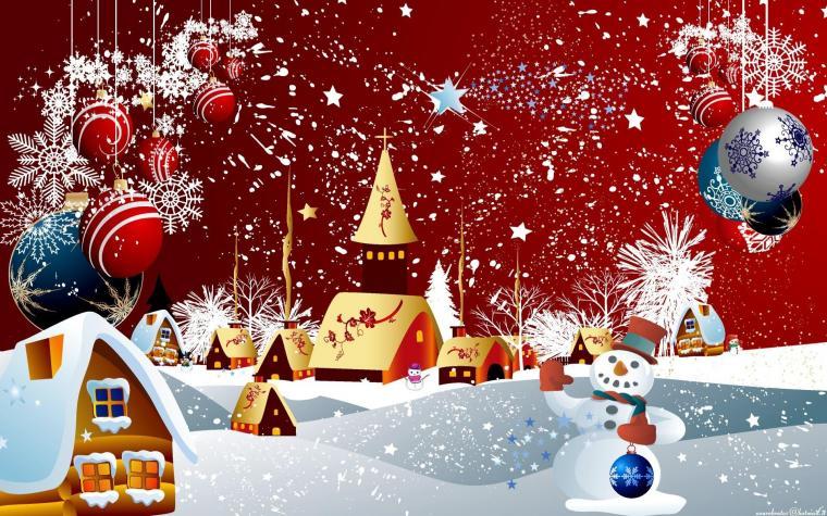 Obrázek vánoční koláže se hodí i do vaši slideshow.