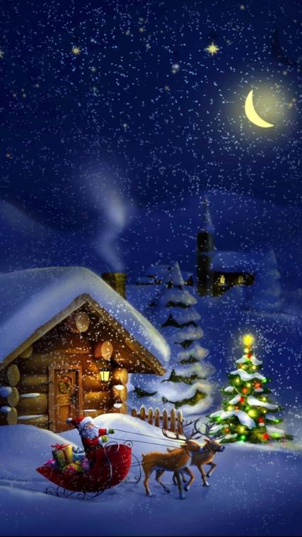 Vánoční pohoda se rozléhá krajem.