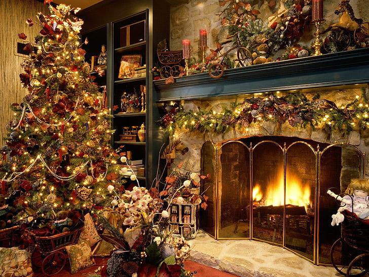 Vánoční idylka.