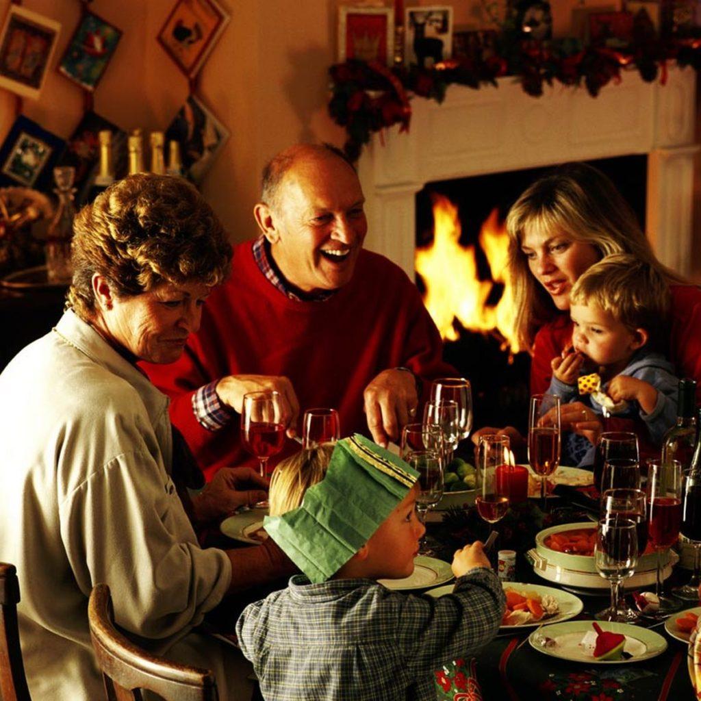 Vánoční svátky jsou příležitost být zase pospolu.